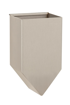 Tong box with fold-over